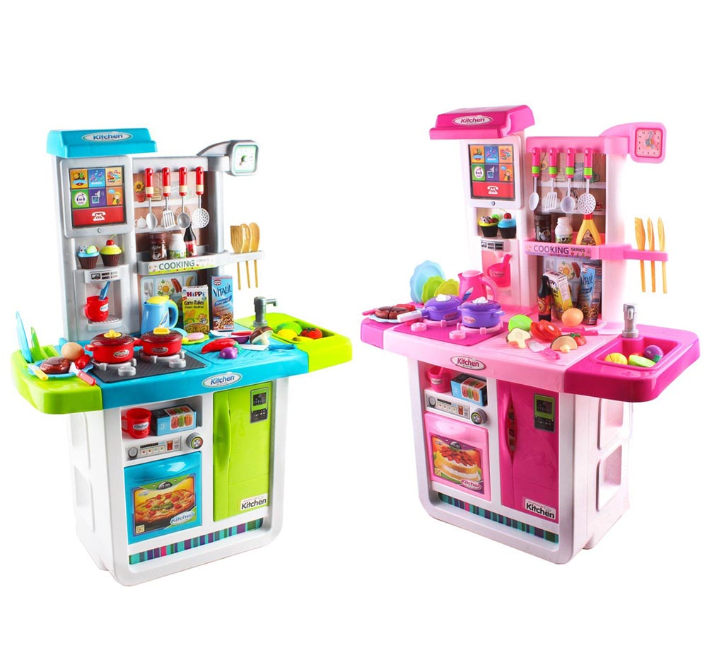 My Little Chef Kitchen Play set with Sounds, Touchscreen Panel + ...